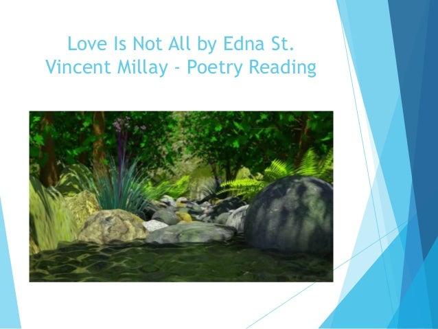 Edna St Vincent Millay Term paper