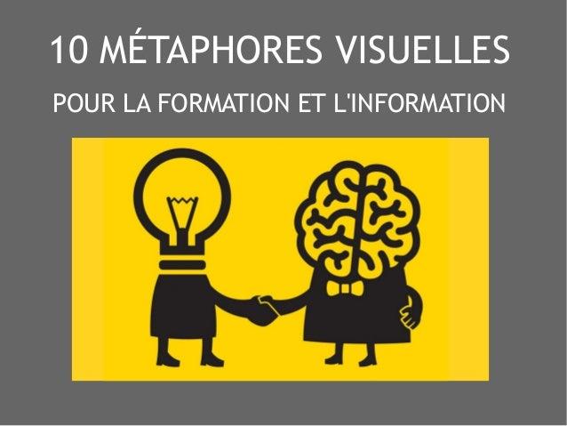 10 MÉTAPHORES VISUELLES POUR LA FORMATION ET L'INFORMATION