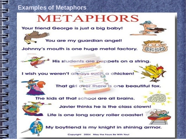 What Is Metaphor Literary Device