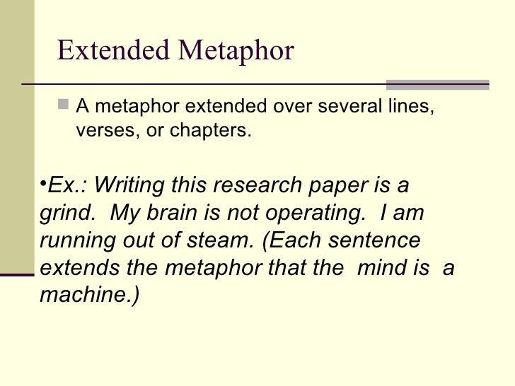 Essay extended metaphor