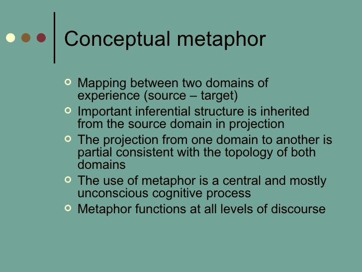 Metaphors Of Containment And Causality