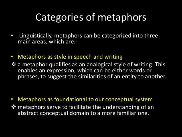 Metaphors Presentation