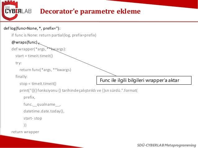 Python Metaprogramming