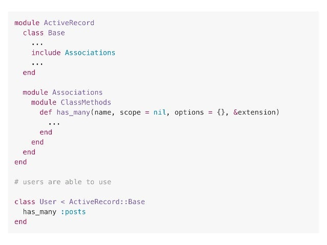 4. Flexible Interfaces Goal: Allow many entries around the same structure. Reduce scoping for common functionality.