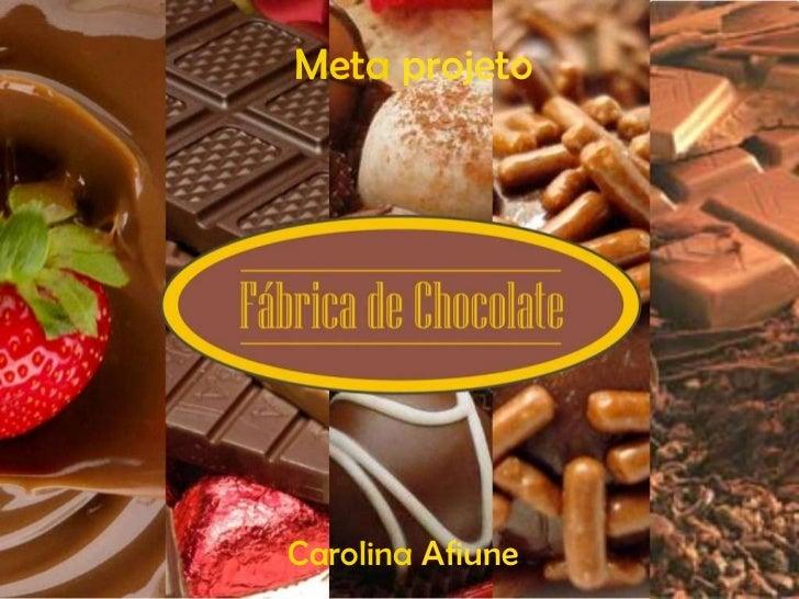 Meta  projeto Carolina  Afiune
