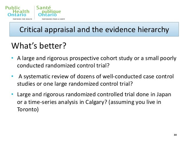 critical appraisal of epidemiological studies and clinical trials pdf