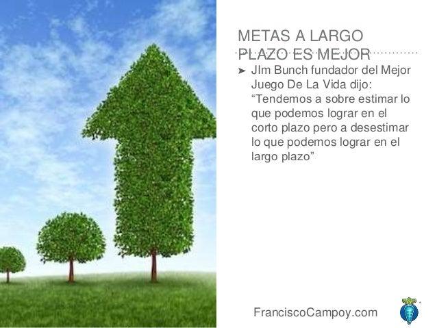 4 FranciscoCampoy METAS A LARGO PLAZO