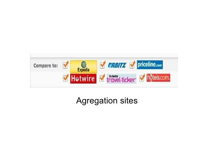 Agregation sites