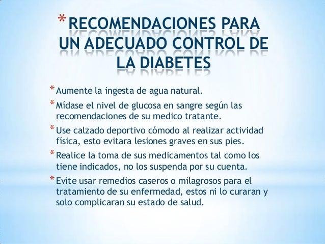 METAS Y PARAMETROS DEL CONTROL NUTRICIONAL EN DIABETES