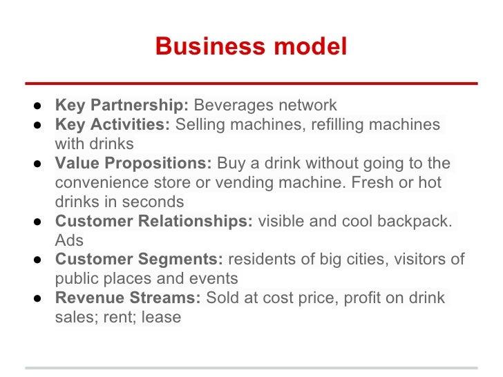 vending machine business model