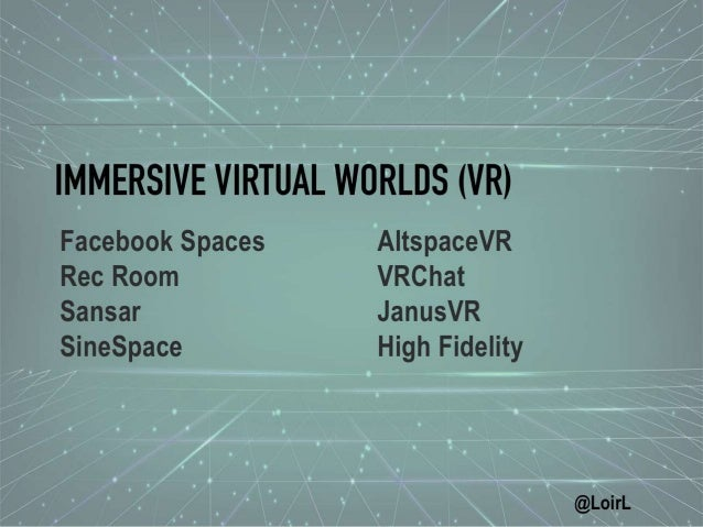 Ready for the Metaverse: Immersive and Interactive Experiences in Vi…