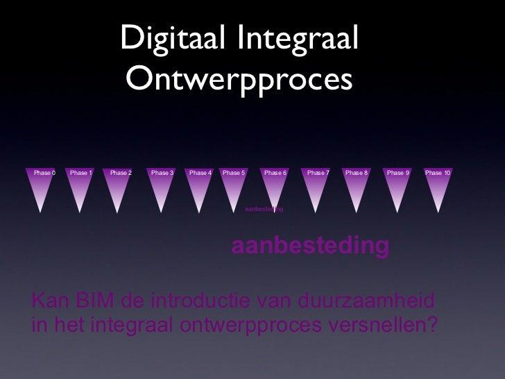 Digitaal Integraal                      OntwerpprocesPhase 0   Phase 1   Phase 2   Phase 3   Phase 4   Phase 5         Pha...