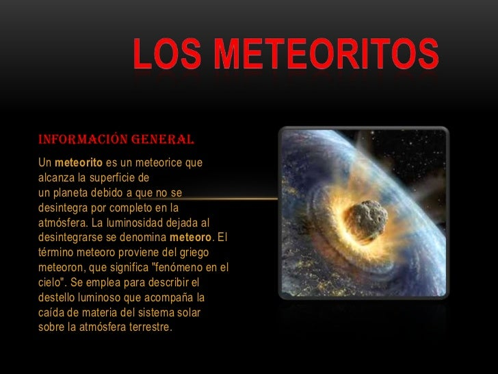 Meteorito: Videos De Meteoritos Related Keywords