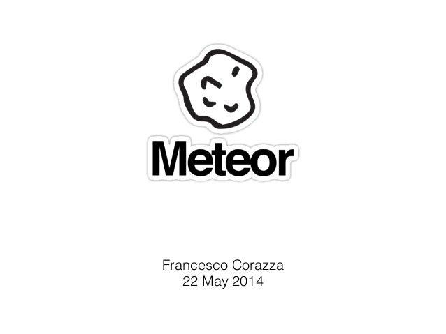 Francesco Corazza 22 May 2014