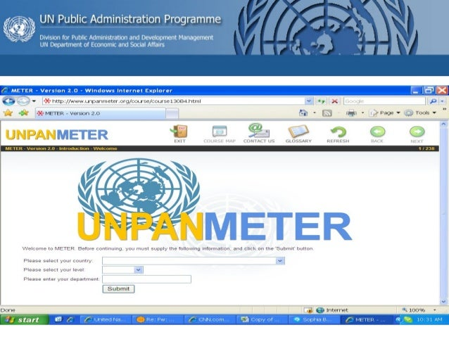 Meter - Online tools for measuring e-government readiness Slide 2