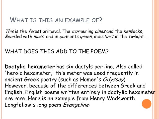 Scansion of poetry!!! Definitions: scan – (verb) to assign long.