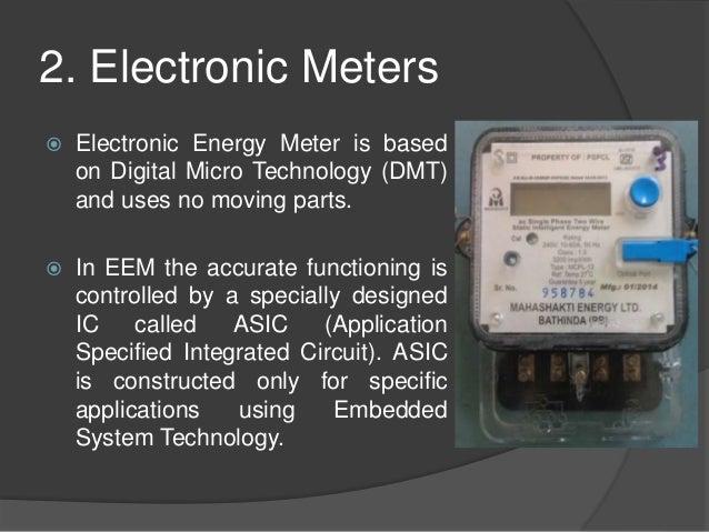Prepaid energy meter using smart cards.