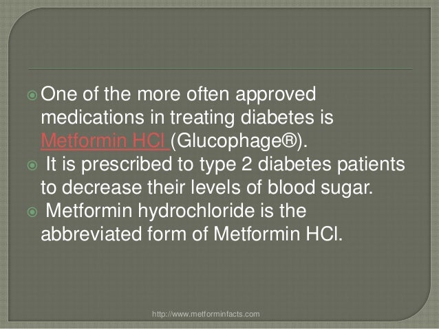 Metformin Dosage Too High