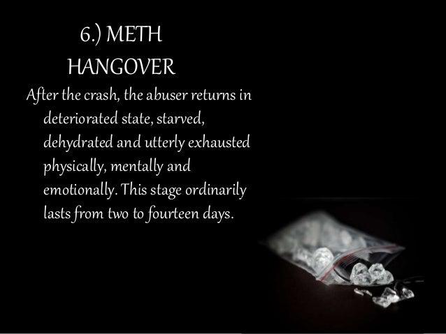 crystal meth hangover