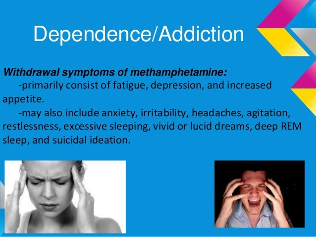 the effects of methamphetamine on the