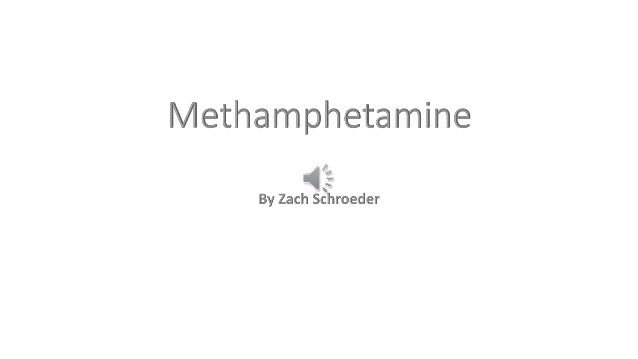 History of the Drug  • Methamphetamine, also known as meth, began use in WWII as a drug to  relieve soldiers from drowsine...