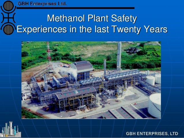 Methanol Plant Safety Experiences in the last Twenty Years