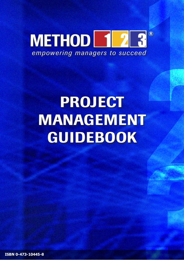 PROJECT1                        2               MANAGEMENT                GUIDEBOOKISBN 0-473-10445-8
