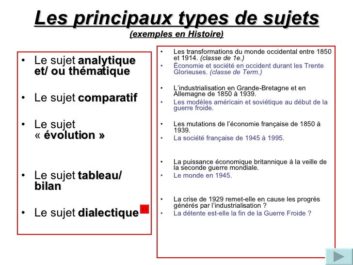 sujet dissertation seconde