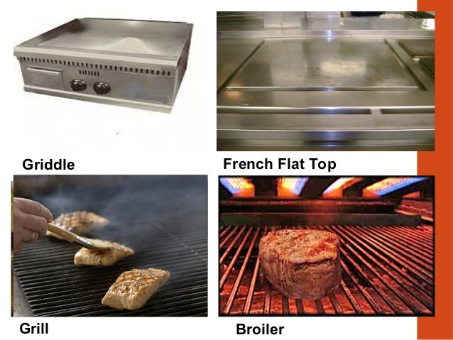 Griddle Grill Broiler French Flat Top