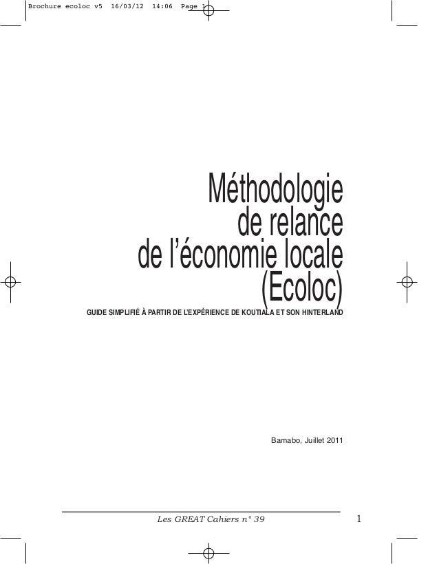 Brochure ecoloc v5   16/03/12   14:06   Page 1                                  Méthodologie                              ...
