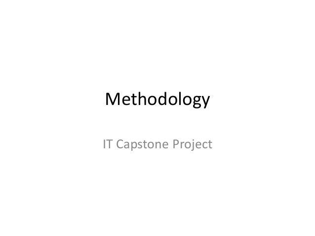 Methodology IT Capstone Project