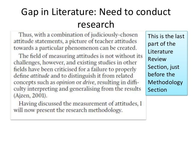 what does a methodology section look like