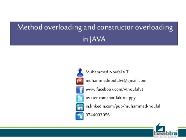 how to call super constructor in java