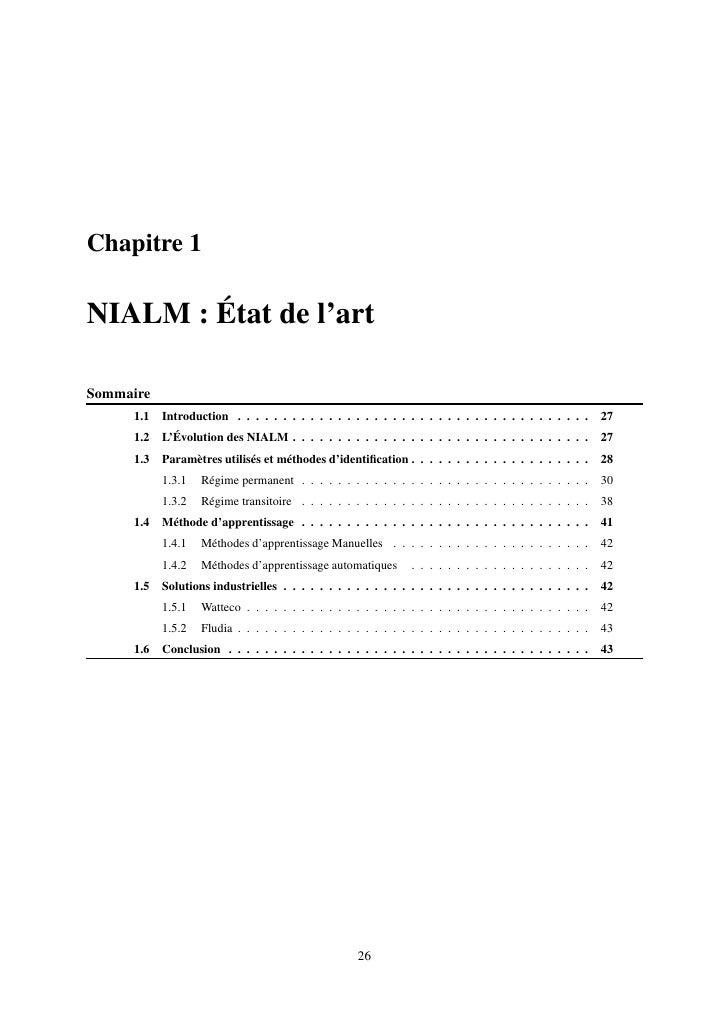 Chapitre 1  NIALM : État de l'art  Sommaire      1.1   Introduction . . . . . . . . . . . . . . . . . . . . . . . . . . . ...