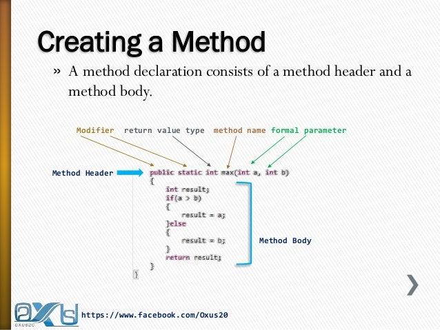 Java method diagram wiring diagram database java methods rh slideshare net java uml class diagram object diagram java ccuart Images