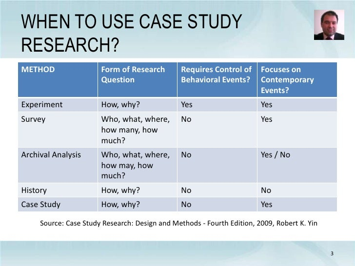 case study research design