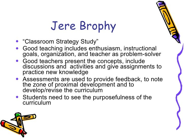 Motivating students to learn by jere brophy