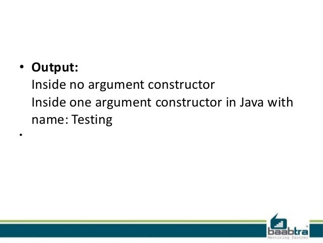 how to call constructor inside constructor in java