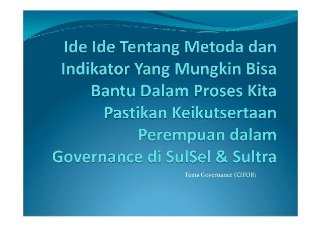 TemaGovernance(CIFOR)