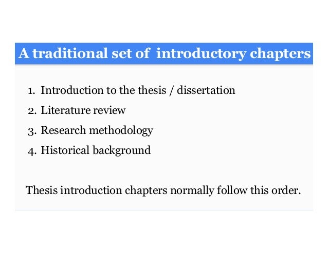 dissertation chapter 3 methodology