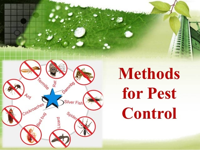 Methodsfor PestControl
