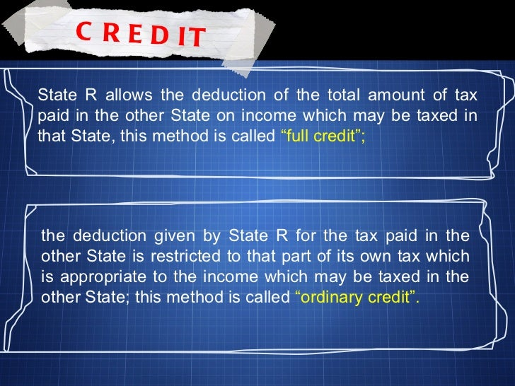 how to avoid double taxation