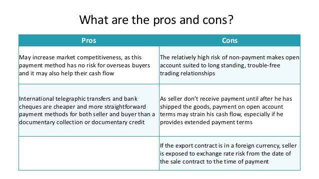 pros and cons of prospective payment systems There are pros and cons to both approaches, though the majority of bundles fall into the former category (retrospective) for reasons described below retrospective payments retrospective payments are the norm for bundles, largely because retrospective payment is standard in the health care industry.