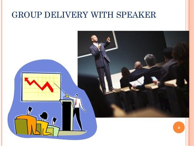 Methods of presentation delivery