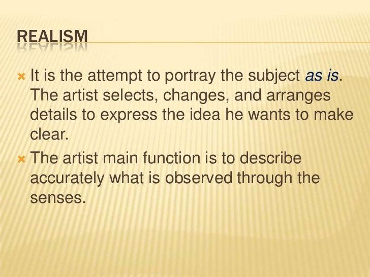 Ways of presenting art subject?