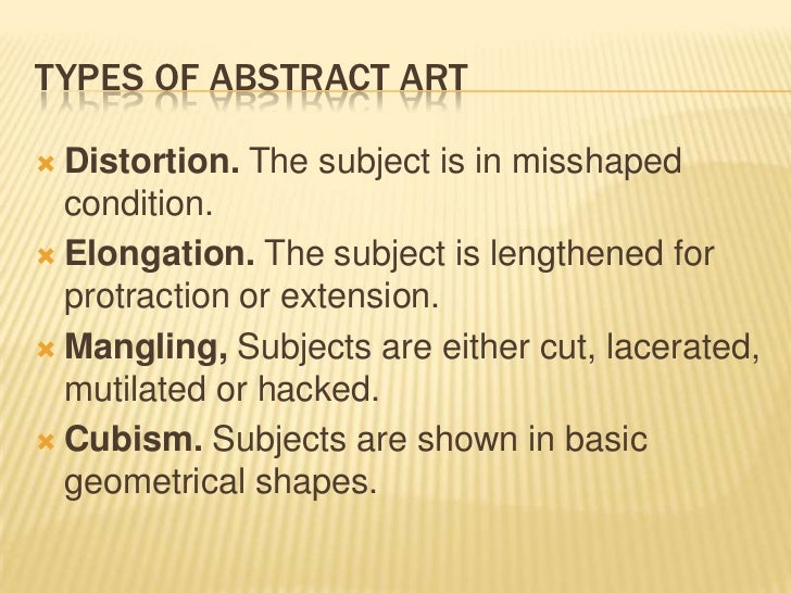 What Does Shape Mean In Art : Methods of presenting art