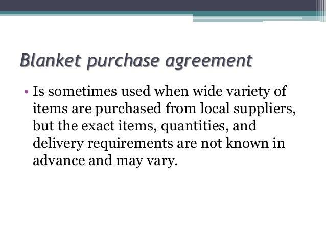 Methods Of Purchasing