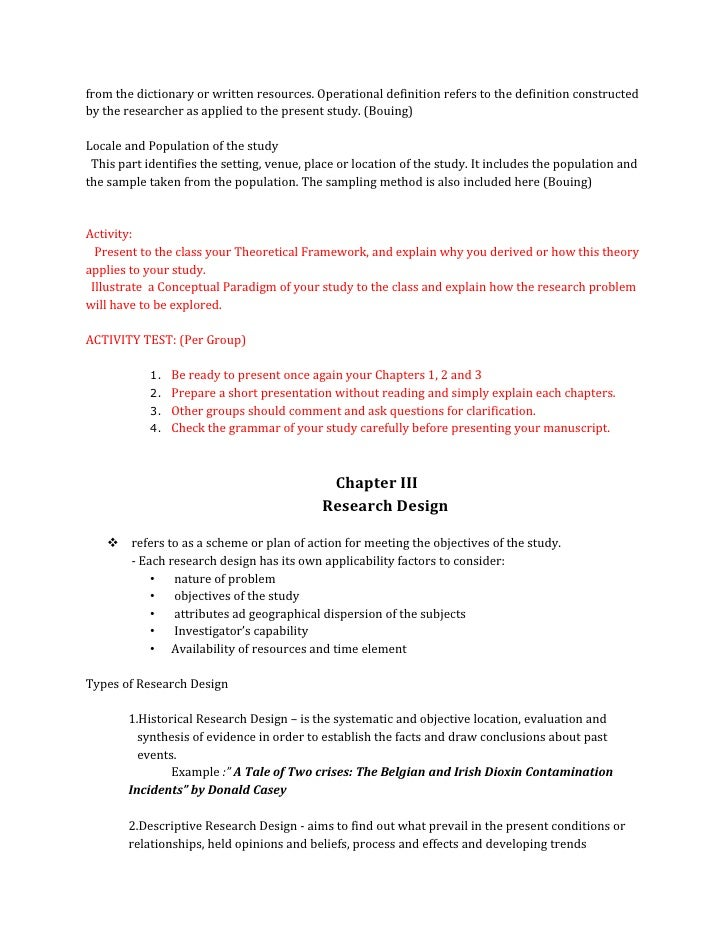 thesis sample olfu