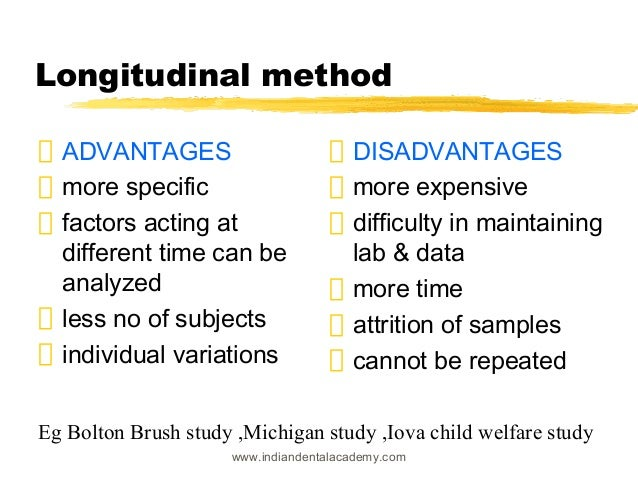 12 Big Advantages of Disadvantages of Longitudinal Studies ...