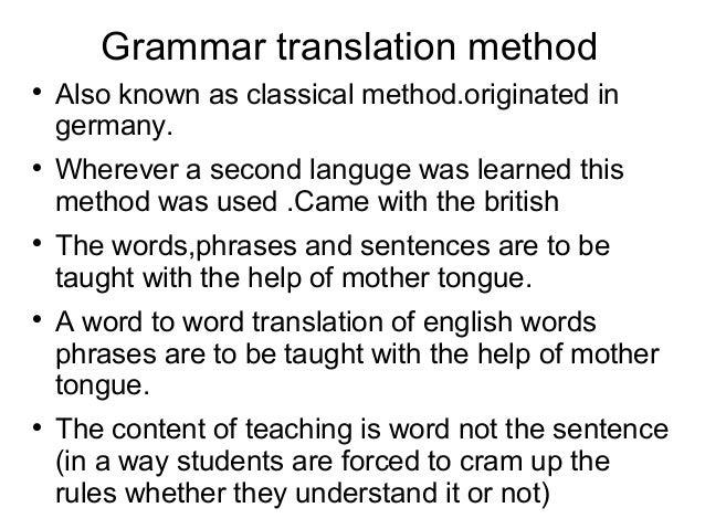 Methods of teaching english Slide 2
